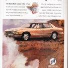 Buick Park Avenue Ultra Ad vintage magazine advertisement