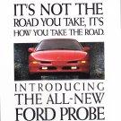 Ford Probe Advertisement vintage magazine ad