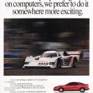 Toyota Celica Advertisement Vintage Magazine AD
