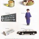 honda accord v-6 sedan  magazine print advertisement