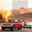 Toyota Pickup Advertisement vintage magazine ad