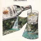RonRico the Puerto Rican rum Rare Magazine Ad Extra Dry-White