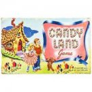 """RETRO STYLE COLLECTIBLE EMBOSSED METAL SIGN """"CANDY LAND"""" BOARD GAME"""