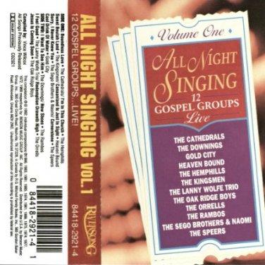 All Night Singing, Vol. 1 Cassette