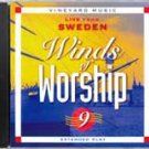 winds of worship 9 - live from sweden CASSETTE