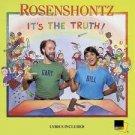 It's the Truth Rosenshontz  Audio Cassette