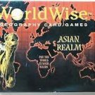 Geography - Asian Realm World Wise a Geography Card Game