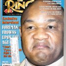 The Ring magazine June 1995 Carlos Monzon George Foreman Mike Tyson Kosta Tszyu