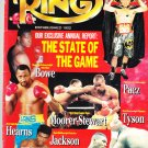 Ring Magazine: January 1992 Tyson/Bowe/Hearns cover