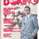Sugar Ray Leonard Beat Boxing Magazine Jan. 1988 Roberto Duran/virgil Hill