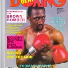 March 1987 Boxing Beat Magazine-Thomas Hearns vintage/rare
