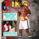 The Ring Magazine Meldrick Taylor January 1989