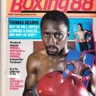 April-Boxing 88 Magazine-Thomas Hearns