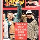 RING MAGAZINE July 1994 SUGAR RAY /OSCAR DE LA HOYA cover