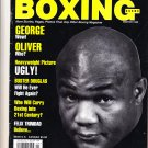 Vintage Winter 1995 Boxing Scene Magazine George Foreman-BUSTER DOUGLAS/FELIX TRINIDAD