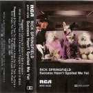 Success Hasn't Spoiled Rick Springfield Cassette