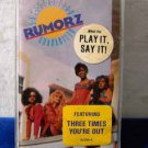 Satisfaction Guaranteed Rumorz  Cassette