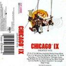 Chicago IX: Greatest Hits  Cassette