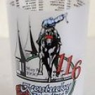 Kentucky Derby Glass Churchill Downs 116th Running, May 5, 1990