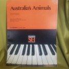 australia's animals sheet music