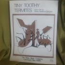 Tiny Toothy Termites sheet music - Piano/Keyboard sheet music by Shirley Haddock Campbell