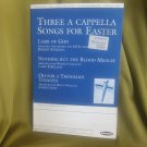 Three a Capella Songs for Easter (SATB ) Choral Sheet Music