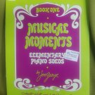 musical moments book 1 piano solos