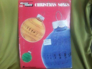 E-Z Play Today #238. 25 Top Christmas Songs sheet music