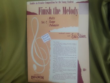 Finish the melody Eric Steiner
