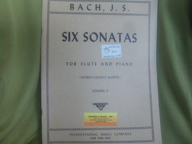 Sonatas for Flute and Piano ((Rampal-Veyron-Lacroix)