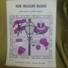 New Orleans March sheet music - Piano/Keyboard sheet music by John Chagy