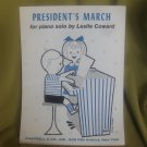 Presidents March for Piano Solo by Lesley Coward