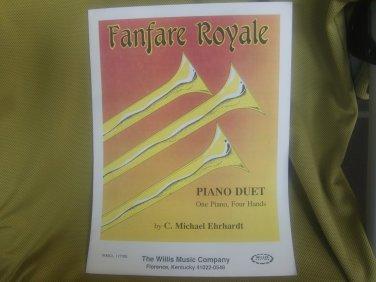Fanfare Royale sheet music - fanfare band sheet music