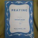 praying piano solo sheet music
