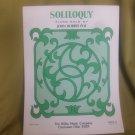 Soliloquy sheet music - Piano/Keyboard sheet music by John Robert Poe