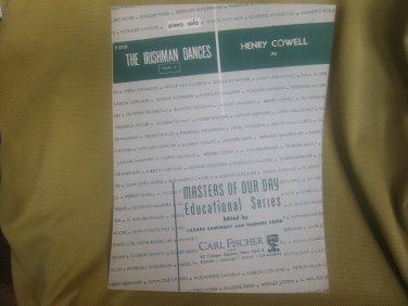The Irishman Dances sheet music - Piano Solo sheet music by Henry Cowell