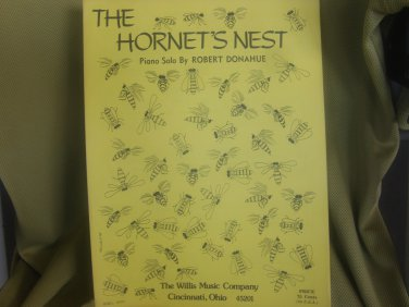 The Hornet's Nest sheet music - Piano/Keyboard sheet music by Robert Donahue