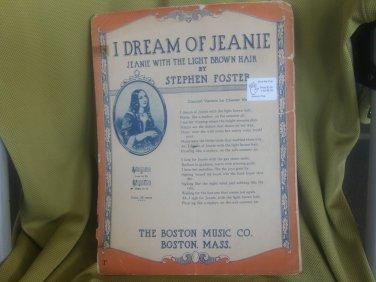 I Dream of Jeannie sheet music