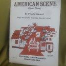 American Scenes sheet music
