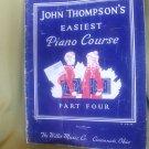 John Thompson's Easiest Piano Course Part Four