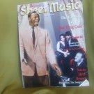 Sheet Music Magazine, July/August 1998 (Vol. 22 no. 4) ~ Nat King Cole
