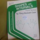 Shapes and Intervals : Piano Technic (Piano Tomorrow, Piano Study Level 1)