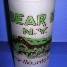 BEAR MOUNTAIN N.Y. Vintage Souvenir Frosted Cup - 1950's
