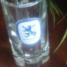 LOWENBRAU  HEAVY GLASS BEER MUG VINTAGE