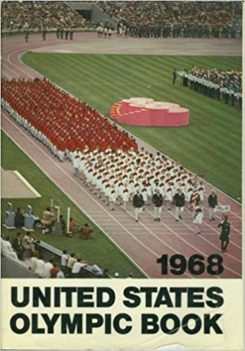 1968 United States Olympic Book Hardcover
