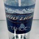 """BEER GLASS """"BUD LIGHT TAHOE"""" LAKE TAHOE, CA."""