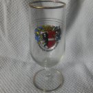 Garmisch-Partenkirchen Germany Gold Rim Drinking Souvenir Glass