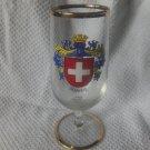 SWITZERLAND schweiz souvenir glass
