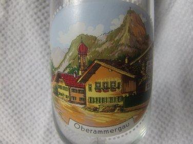 Oberstdorf Allgau Souvenir Wine Glass