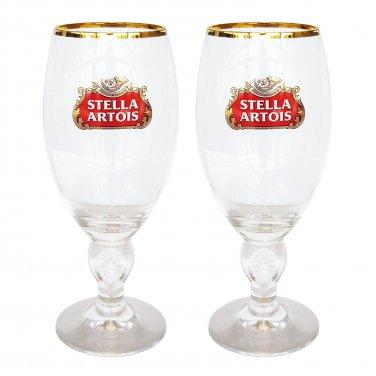 Stella Artois 33-Centiliter Star Chalice, Set of 2